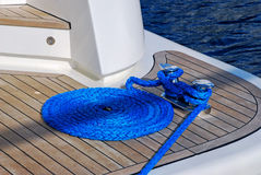 Blue rope Royalty Free Stock Images