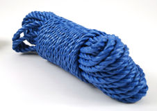 Blue rope Stock Photography