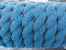 Blue rope Royalty Free Stock Photos