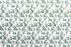 Blue Rose Fabric background, Fragment of colorful  Stock Images