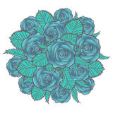 Blue Roses Royalty Free Stock Photo