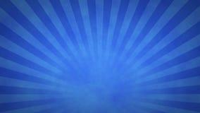 Blue Rotating Sunburst Animated Looping Background stock footage