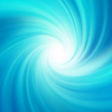 Blue rotation water. EPS 8 Royalty Free Stock Images