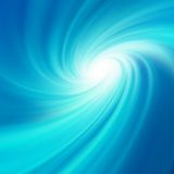Blue rotation water. EPS 10 Royalty Free Stock Photo