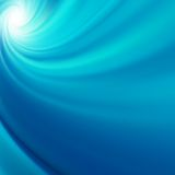 Blue rotation water. EPS 10 Royalty Free Stock Photography