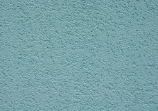 Blue rough plaster on wall Royalty Free Stock Photos