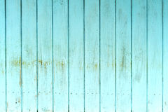 Blue rough wooden wall texture background Stock Photography
