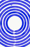 Blue Round circles Royalty Free Stock Photography