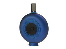 Blue Round Speaker Royalty Free Stock Images