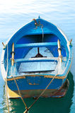 Blue Rowing Boat Royalty Free Stock Photos