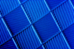 Blue abstract background. A blue textured abstract background Stock Photo