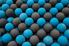 Blue Rubber Balls Fetch Stock Photo