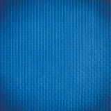 Blue rubber pattern use on floor of speed boat Stock Photography