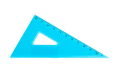 Blue ruler Royalty Free Stock Photography