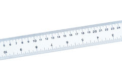 Blue Ruler Stock Photography