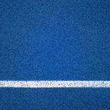 Blue Running track rubber cover. Texture background Royalty Free Stock Photo