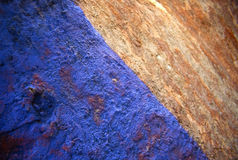 Blue Rust royalty free stock photography