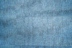 Blue rustic Old Fabric Background Royalty Free Stock Images