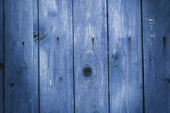 Blue Rustic old wood background. Backdrop Stock Photos