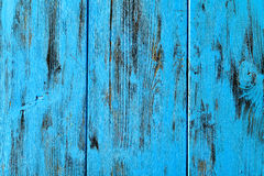 Blue rustic wooden background Royalty Free Stock Images