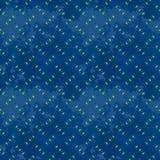 Blue rusty seamless steel diamond plate texture Stock Image
