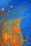 Blue rusty surface texture Royalty Free Stock Photo