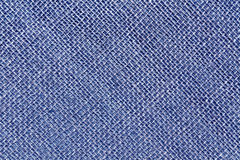 Blue sack cloth texture. Royalty Free Stock Photography