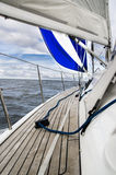 Blue sail Royalty Free Stock Images