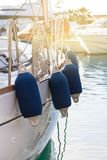 Sailboat Side Buoys Royalty Free Stock Images