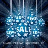 Blue sale percent balls Stock Images