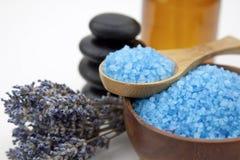 Blue salt Royalty Free Stock Photo