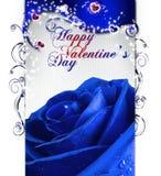 Blue san valentino Royalty Free Stock Image