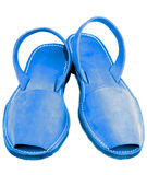 Blue Sandals Royalty Free Stock Images