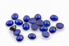 Blue sapphire . Royalty Free Stock Photo