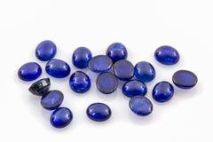 Blue sapphire . Royalty Free Stock Photo