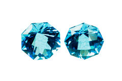 Blue sapphire Royalty Free Stock Photos