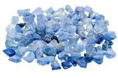 Blue sapphire Stock Photography