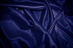 Blue satin Stock Image