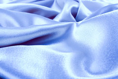 Blue Satin Background. Soft blue satin background ( Wave Pattern &  Textile Stock Photos