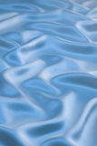 Blue Satin Background Stock Photos