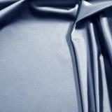 Blue satin Royalty Free Stock Image