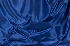 Blue Satin Background (1) Stock Image