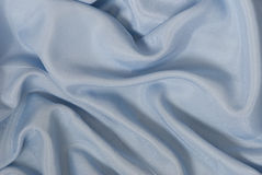Blue satin background Royalty Free Stock Photos