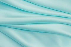 Blue satin Stock Image