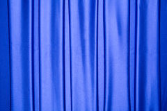 Blue satin repeated stripes pattern Stock Images