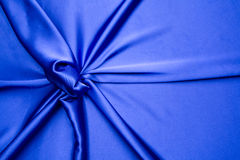Blue satin simple pattern Stock Image