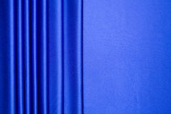 Blue satin stripes pattern Royalty Free Stock Image