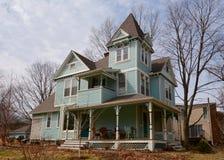 The Blue Savage House Royalty Free Stock Photos