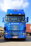 Blue Scania Truck R620 Stock Photography