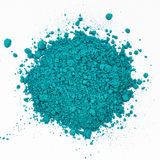 Blue scattered cosmetic Stock Images